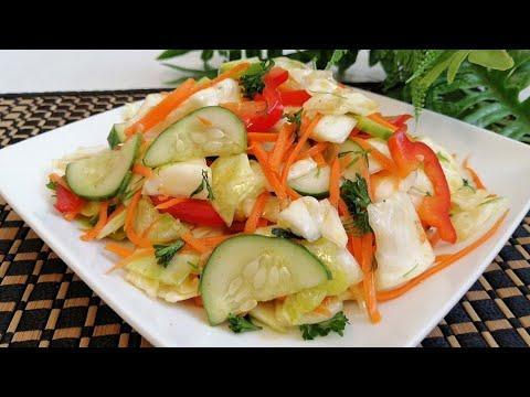 Chimchi - koreyscha karamli salat