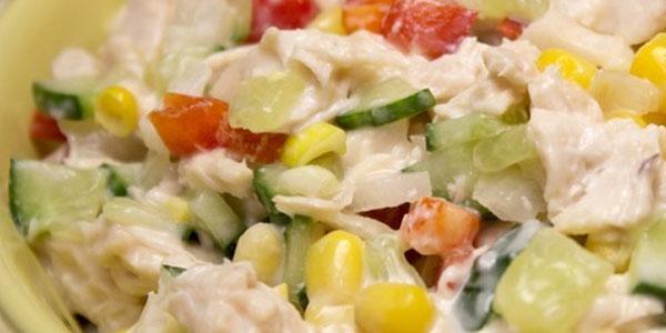 Tovuq go'shtli salat