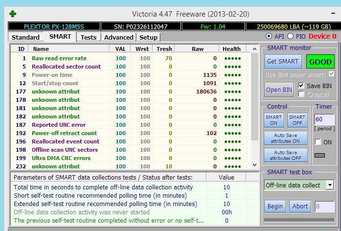 Программа для диагностики Victoria HDD
