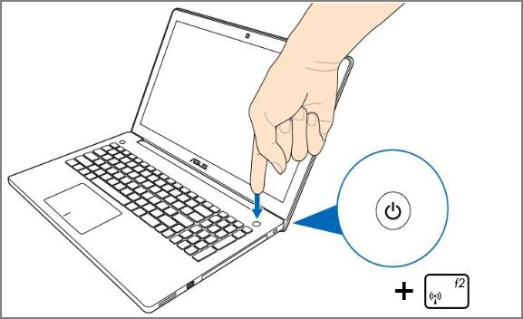 Первый способ входа в Биос на Windows 10