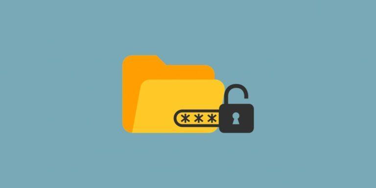 Как бесплатно поставить пароль на папку
