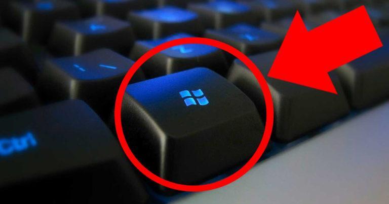 Win на клавиатуре